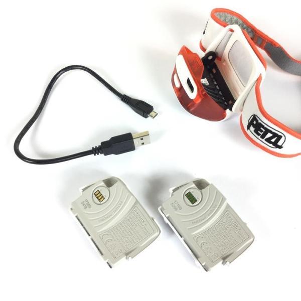 ペツル PETZL リアクティック プラス REACTIC PLUS ヘッドライト 300ルーメン + リチャージャブルバッテリー One オレンジ系|2ndgear-outdoor|05