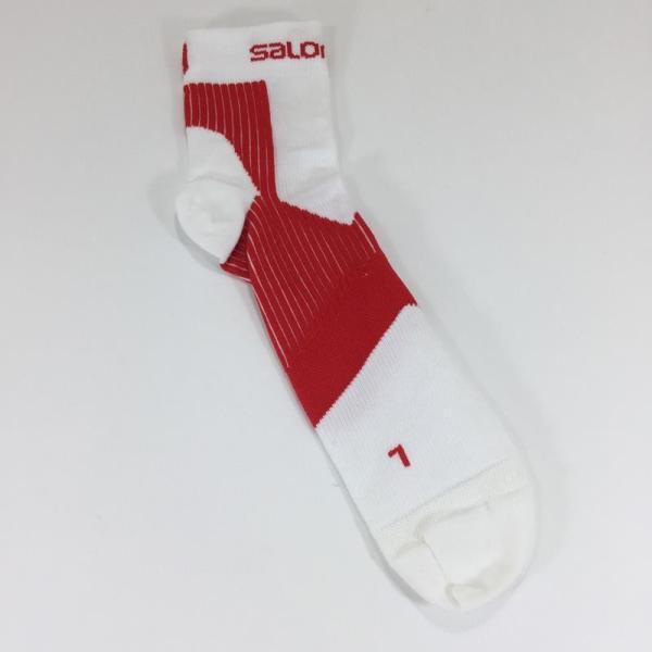 【30%OFF】サロモン SALOMON センス サポート ソックス SENSE SUPPORT SOCKS UNISEX L レッド系|2ndgear-outdoor|02