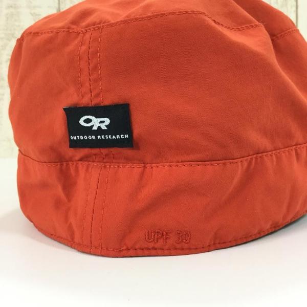 アウトドアリサーチ OUTDOOR RESEARCH レイダーポケットキャップ RADAR POCKET CAP 希少色 XL オレンジ系|2ndgear-outdoor|06