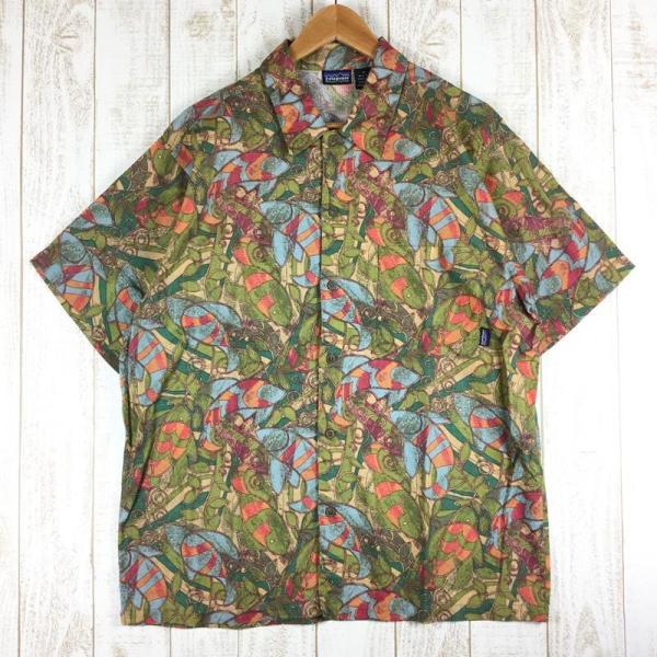 パタゴニア ショートスリーブ エーシー シャツ Short Sleeved AC Shirts PATAGONIA 53302 Internation|2ndgear-outdoor