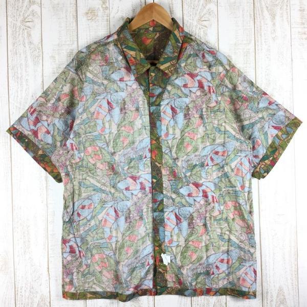 パタゴニア ショートスリーブ エーシー シャツ Short Sleeved AC Shirts PATAGONIA 53302 Internation|2ndgear-outdoor|03