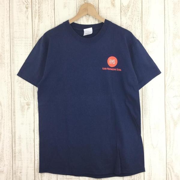 【40%OFF】アラスカマウンテニアリングスクール AMS ALASKA MOUNTAINEERING SCHOOL オリジナル Tシャツ 希少なアウトドアTシャツ|2ndgear-outdoor