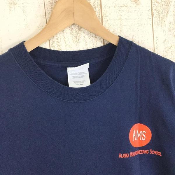 【40%OFF】アラスカマウンテニアリングスクール AMS ALASKA MOUNTAINEERING SCHOOL オリジナル Tシャツ 希少なアウトドアTシャツ|2ndgear-outdoor|02