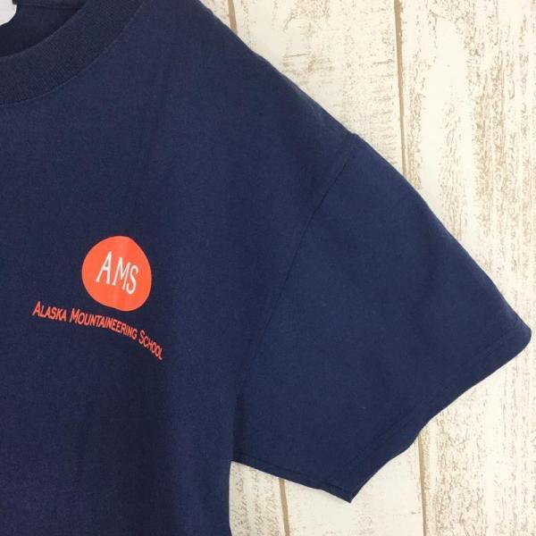 【40%OFF】アラスカマウンテニアリングスクール AMS ALASKA MOUNTAINEERING SCHOOL オリジナル Tシャツ 希少なアウトドアTシャツ|2ndgear-outdoor|04