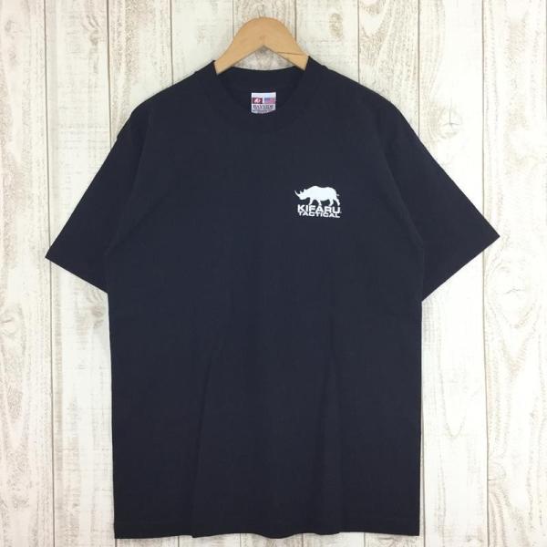 【40%OFF】キファル KIFARU ヘビーウェイト ロゴ Tシャツ 生産終了モデル 希少 International MEN's L ブラック系 2ndgear-outdoor