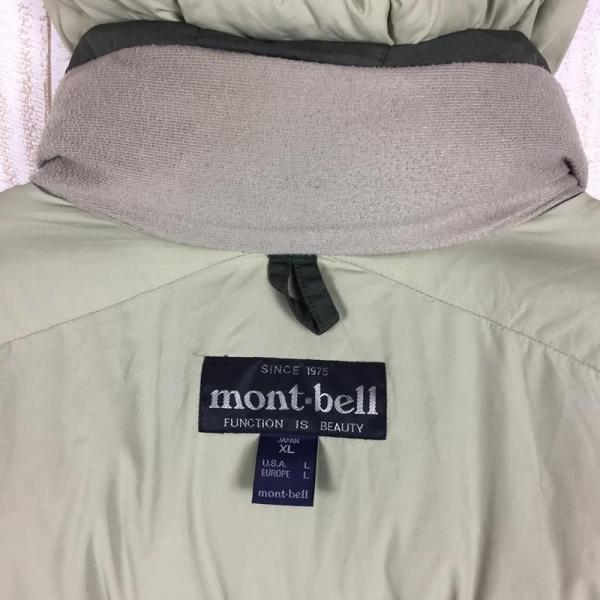 モンベル MONTBELL ローガン ダウン ジャケット 650FP ダウン  Asian MEN's XL カーキ系|2ndgear-outdoor|09