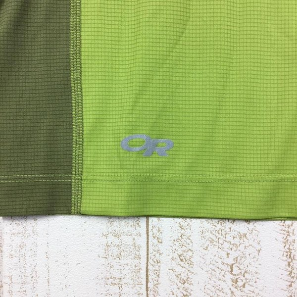 アウトドアリサーチ OUTDOOR RESEARCH エコー ショートスリーブ Tシャツ  International MEN's S グリーン系|2ndgear-outdoor|03