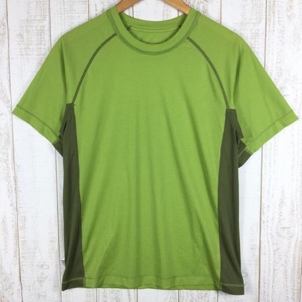 アウトドアリサーチ OUTDOOR RESEARCH エコー ショートスリーブ Tシャツ  International MEN's S グリーン系|2ndgear-outdoor|05
