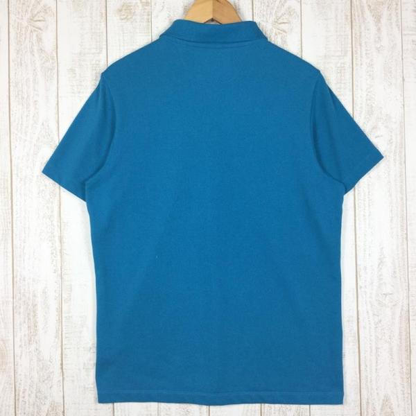 ジャックウルフスキン JACKWOLFSKIN ピケF65 ポロシャツ  International MEN's L ブルー系|2ndgear-outdoor|02