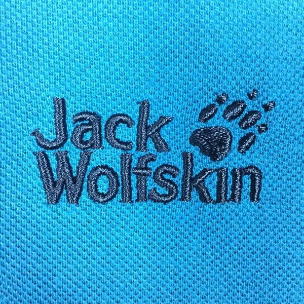ジャックウルフスキン JACKWOLFSKIN ピケF65 ポロシャツ  International MEN's L ブルー系|2ndgear-outdoor|05