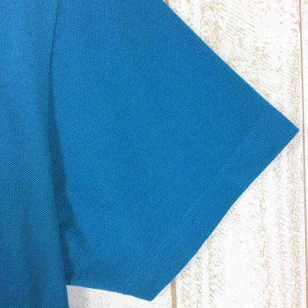 ジャックウルフスキン JACKWOLFSKIN ピケF65 ポロシャツ  International MEN's L ブルー系|2ndgear-outdoor|06