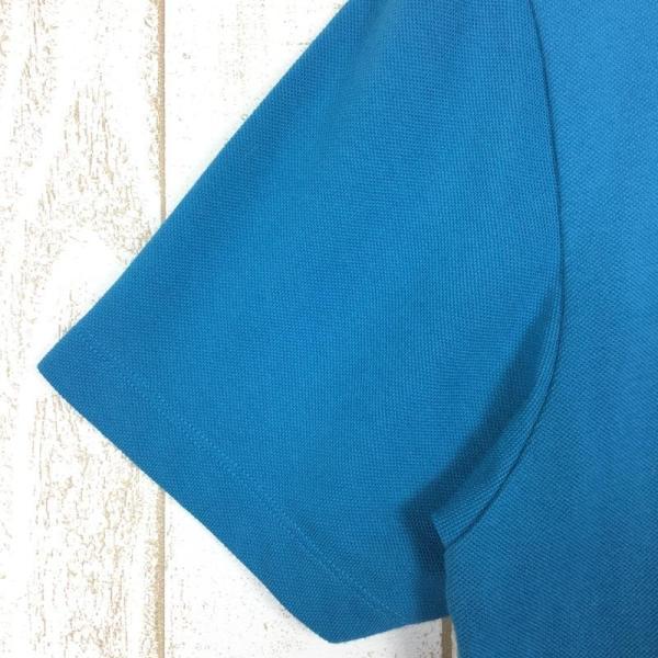 ジャックウルフスキン JACKWOLFSKIN ピケF65 ポロシャツ  International MEN's L ブルー系|2ndgear-outdoor|07