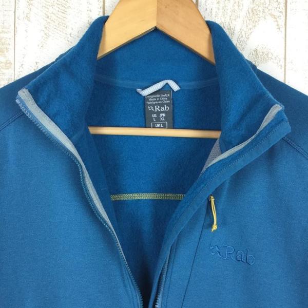 ラブ RAB パワー ウール ジャケット Power Wool Jacket  International MEN's L ブルー系|2ndgear-outdoor|03