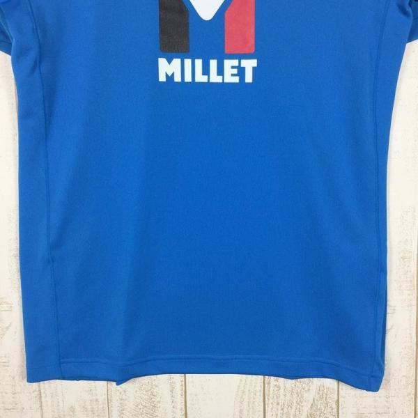 ミレー MILLET トリロジー ロゴ Tシャツ TRILOGY LOGO TEE  International MEN's L ブルー系 2ndgear-outdoor 03