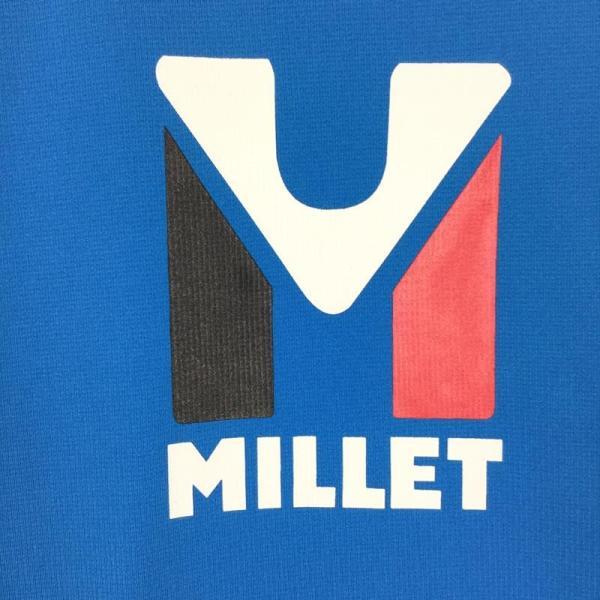 ミレー MILLET トリロジー ロゴ Tシャツ TRILOGY LOGO TEE  International MEN's L ブルー系 2ndgear-outdoor 04