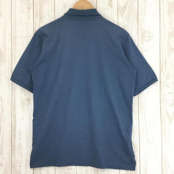 ノースフェイス NORTH FACE ショートスリーブ クイックドライ ポロシャツ  Asian MEN's L ブルー系|2ndgear-outdoor|02