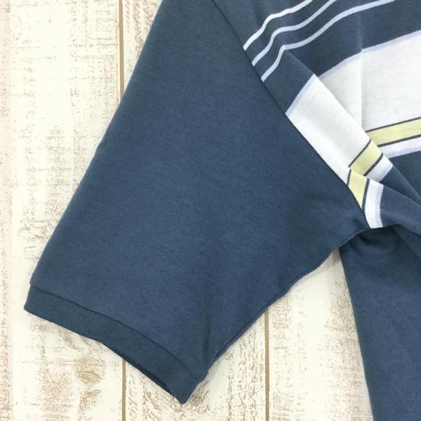 ノースフェイス NORTH FACE ショートスリーブ クイックドライ ポロシャツ  Asian MEN's L ブルー系|2ndgear-outdoor|05