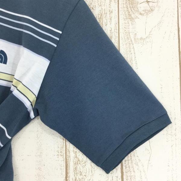 ノースフェイス NORTH FACE ショートスリーブ クイックドライ ポロシャツ  Asian MEN's L ブルー系|2ndgear-outdoor|06