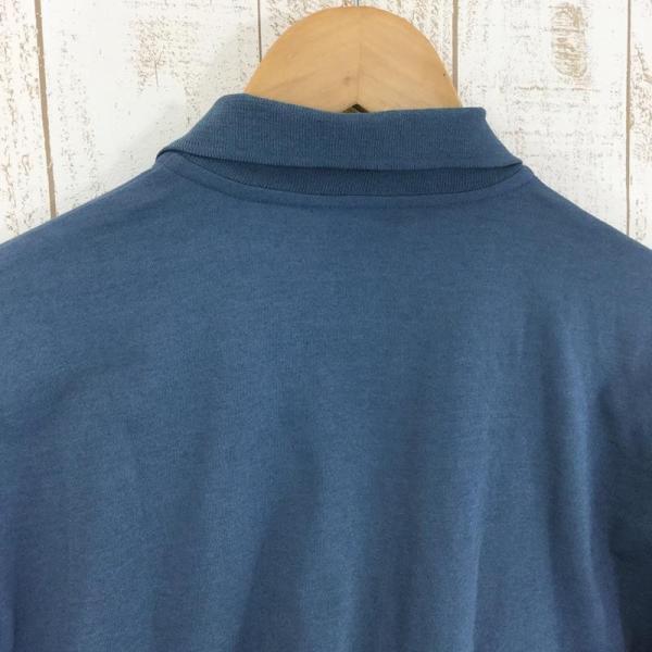 ノースフェイス NORTH FACE ショートスリーブ クイックドライ ポロシャツ  Asian MEN's L ブルー系|2ndgear-outdoor|08