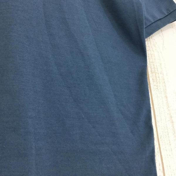 ノースフェイス NORTH FACE ショートスリーブ クイックドライ ポロシャツ  Asian MEN's L ブルー系|2ndgear-outdoor|09