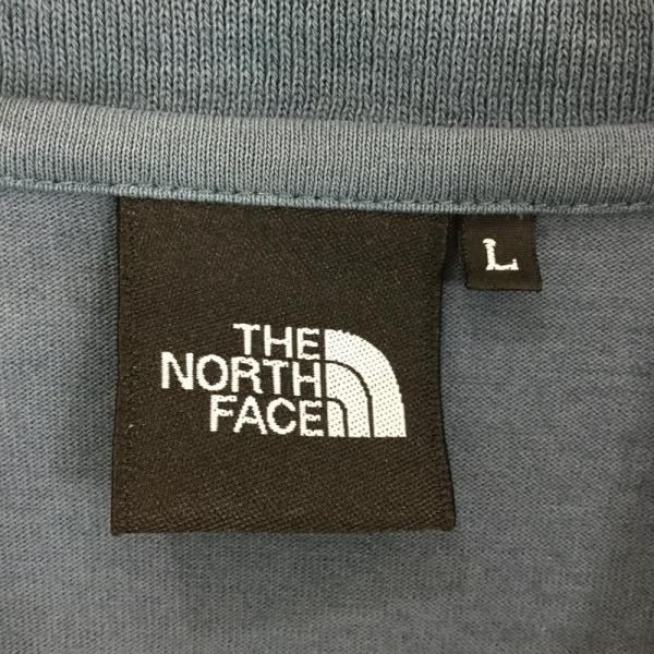 ノースフェイス NORTH FACE ショートスリーブ クイックドライ ポロシャツ  Asian MEN's L ブルー系|2ndgear-outdoor|10
