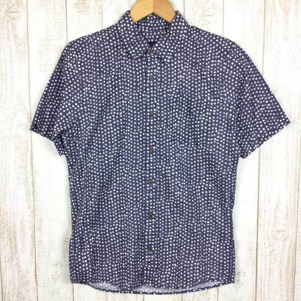 パタゴニア PATAGONIA ハーベスト シャツ Harvest Shirt アロハシャツ International MEN's S DOT ネイ 2ndgear-outdoor