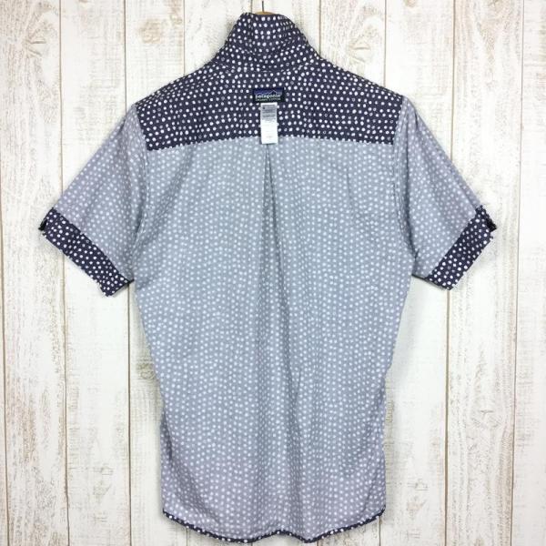 パタゴニア PATAGONIA ハーベスト シャツ Harvest Shirt アロハシャツ International MEN's S DOT ネイ 2ndgear-outdoor 04