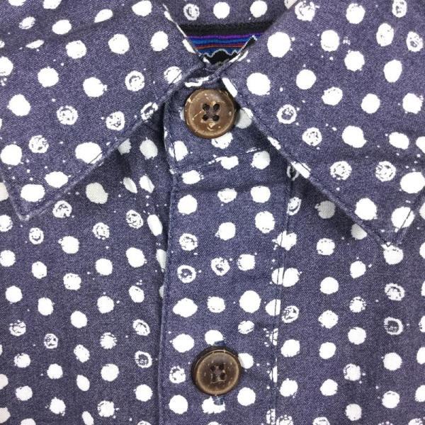 パタゴニア PATAGONIA ハーベスト シャツ Harvest Shirt アロハシャツ International MEN's S DOT ネイ 2ndgear-outdoor 09