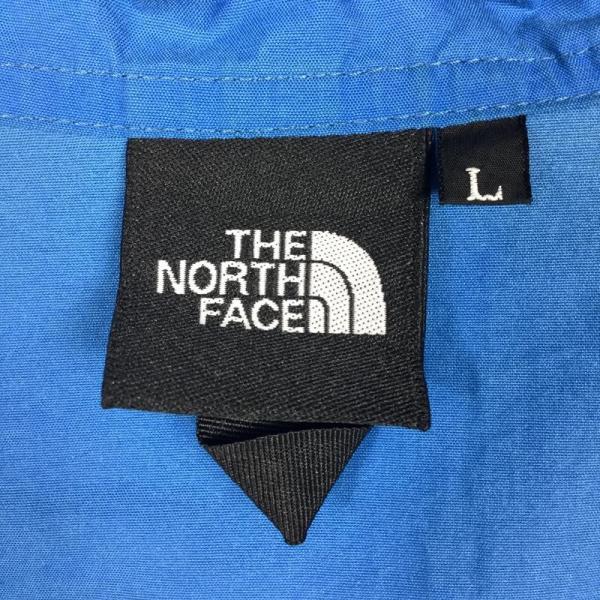 ノースフェイス NORTH FACE コンパクト ジャケット COMPACT JACKET  Asian MEN's L ブルー系|2ndgear-outdoor|09