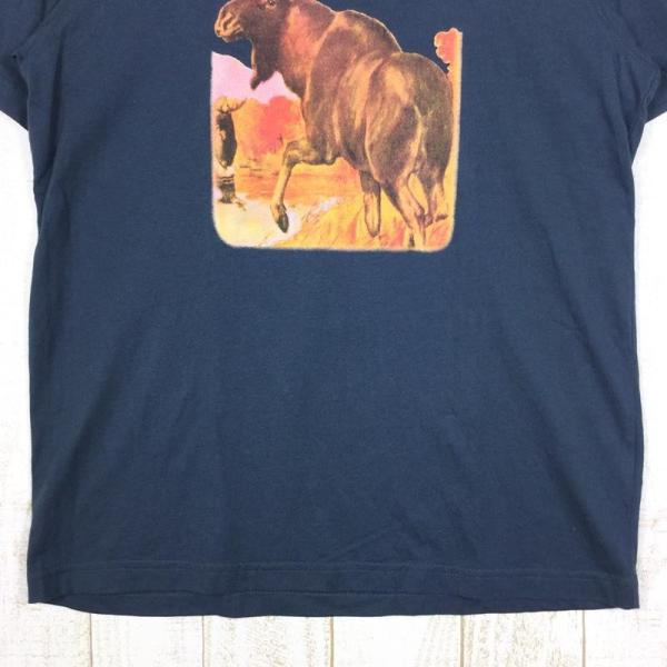 【30%OFF】エルエルビーン LLBEAN ムース Tシャツ MOOSE T Shirt MEN's M ネイビー系|2ndgear-outdoor|05