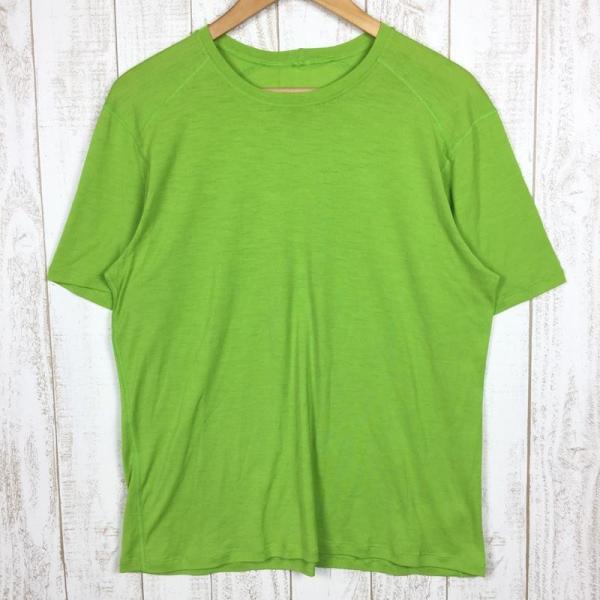 パタゴニア PATAGONIA メリノ 1 Tシャツ MERINO 1 TEE  International MEN's L グリーン系|2ndgear-outdoor