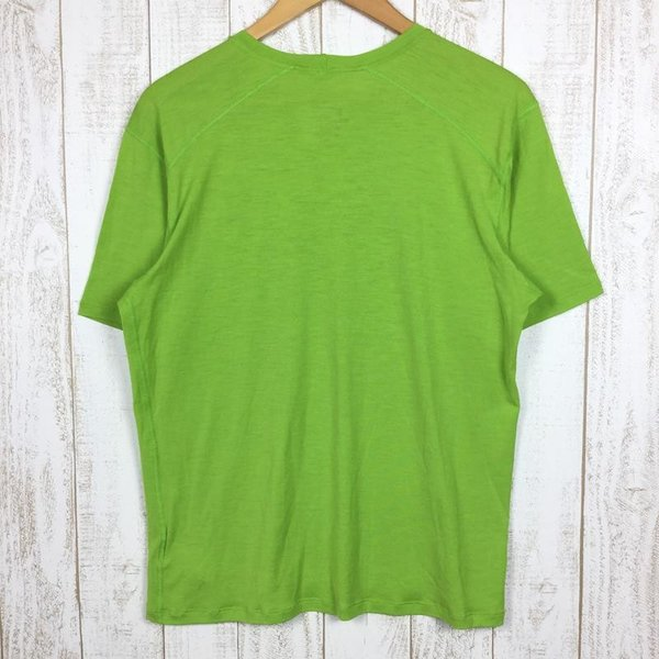 パタゴニア PATAGONIA メリノ 1 Tシャツ MERINO 1 TEE  International MEN's L グリーン系|2ndgear-outdoor|02