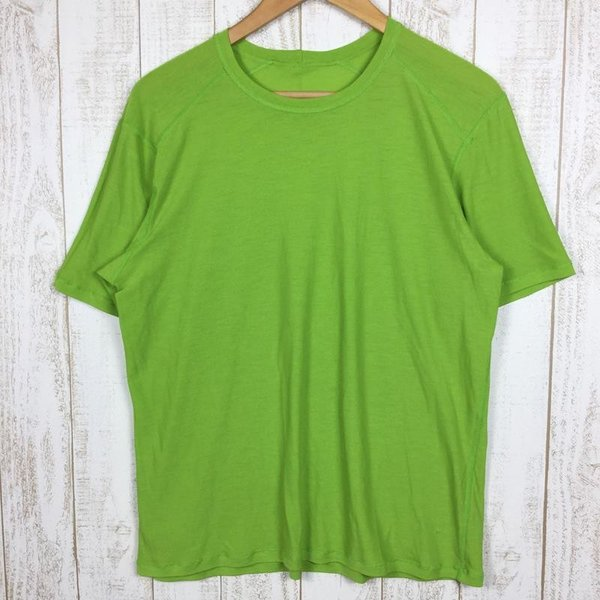 パタゴニア PATAGONIA メリノ 1 Tシャツ MERINO 1 TEE  International MEN's L グリーン系|2ndgear-outdoor|03