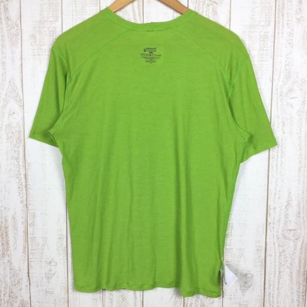 パタゴニア PATAGONIA メリノ 1 Tシャツ MERINO 1 TEE  International MEN's L グリーン系|2ndgear-outdoor|04