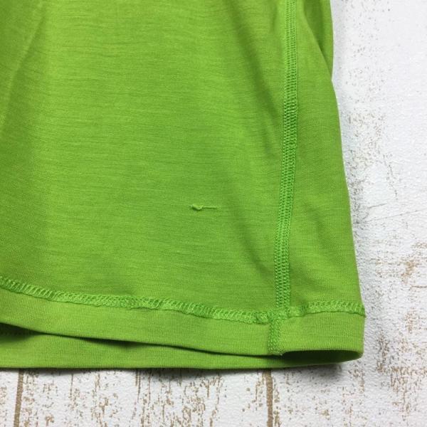 パタゴニア PATAGONIA メリノ 1 Tシャツ MERINO 1 TEE  International MEN's L グリーン系|2ndgear-outdoor|06