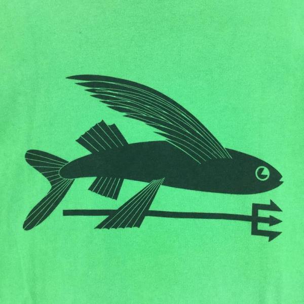 パタゴニア PATAGONIA トビウオ ショートスリーブ Tシャツ  International MEN's M グリーン系|2ndgear-outdoor|04