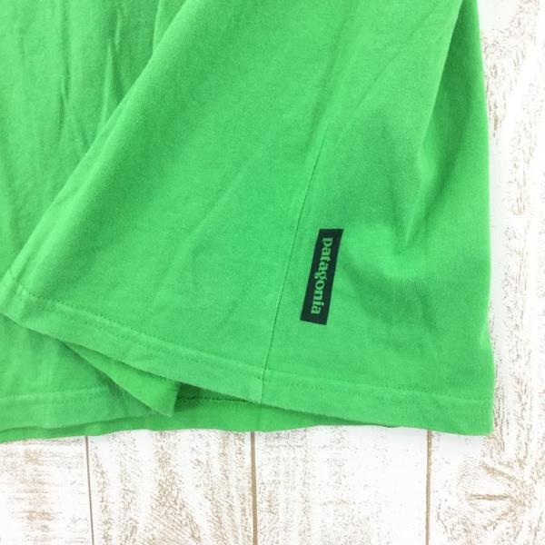 パタゴニア PATAGONIA トビウオ ショートスリーブ Tシャツ  International MEN's M グリーン系|2ndgear-outdoor|05