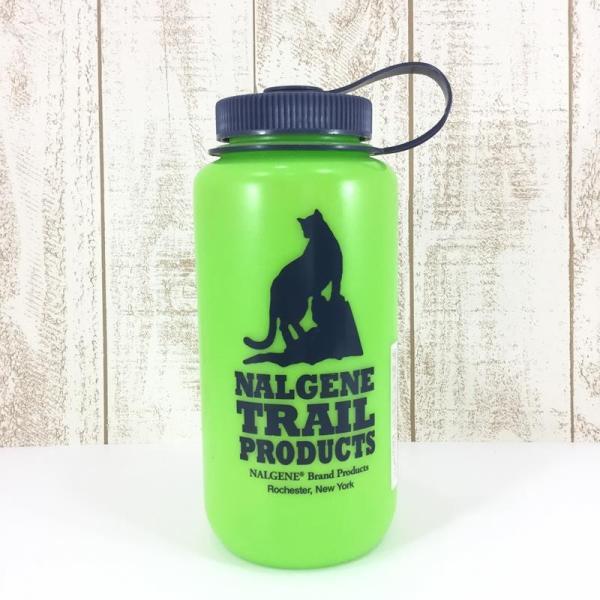 ナルゲン NALGENE グロー ボトル 蛍光 1L 希少モデル One グリーン系|2ndgear-outdoor