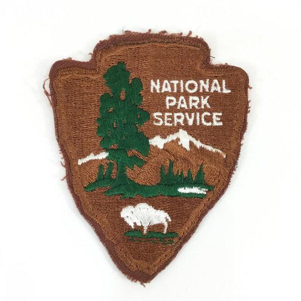 【43%OFF】ユナイテッド ステイツ ナショナル パーク サービス USNPS 非売品 ワッペン  One ブラウン系|2ndgear-outdoor