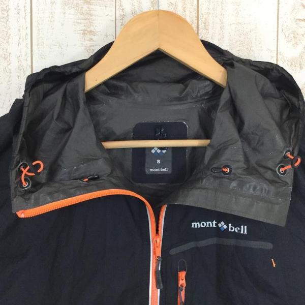 モンベル MONTBELL トレントフライヤージャケット ゴアテックス・パックライト Asian MEN's S ブラック系|2ndgear-outdoor|02