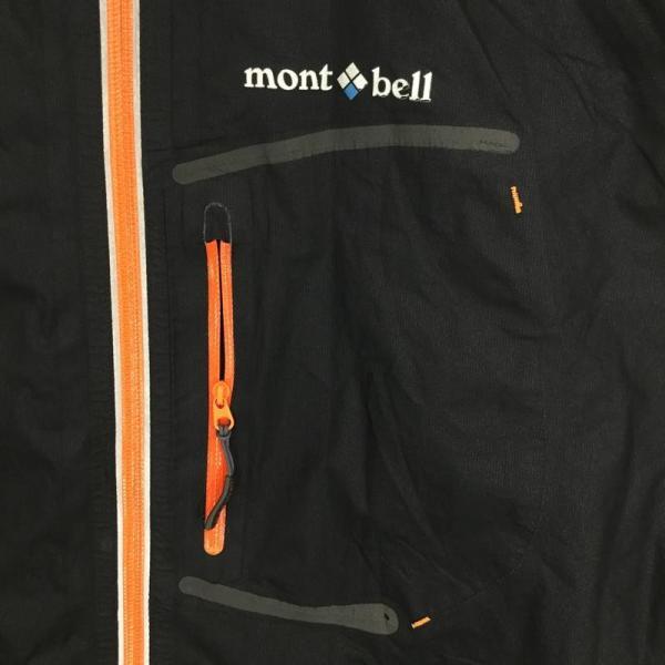 モンベル MONTBELL トレントフライヤージャケット ゴアテックス・パックライト Asian MEN's S ブラック系|2ndgear-outdoor|03
