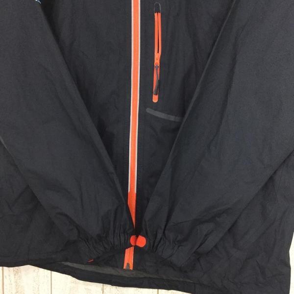 モンベル MONTBELL トレントフライヤージャケット ゴアテックス・パックライト Asian MEN's S ブラック系|2ndgear-outdoor|04