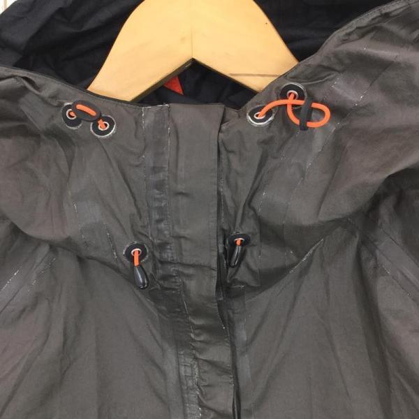 モンベル MONTBELL トレントフライヤージャケット ゴアテックス・パックライト Asian MEN's S ブラック系|2ndgear-outdoor|08