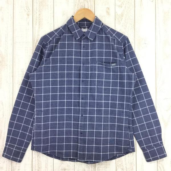 フェニックス PHENIX Windowpane Check Shirts  Asian MEN's M ネイビー系|2ndgear-outdoor