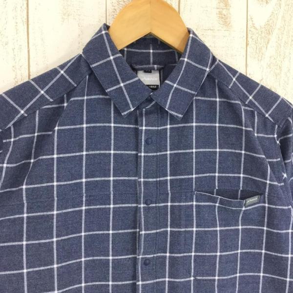 フェニックス PHENIX Windowpane Check Shirts  Asian MEN's M ネイビー系|2ndgear-outdoor|02