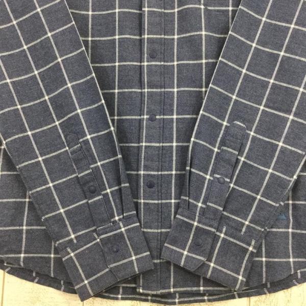 フェニックス PHENIX Windowpane Check Shirts  Asian MEN's M ネイビー系|2ndgear-outdoor|06