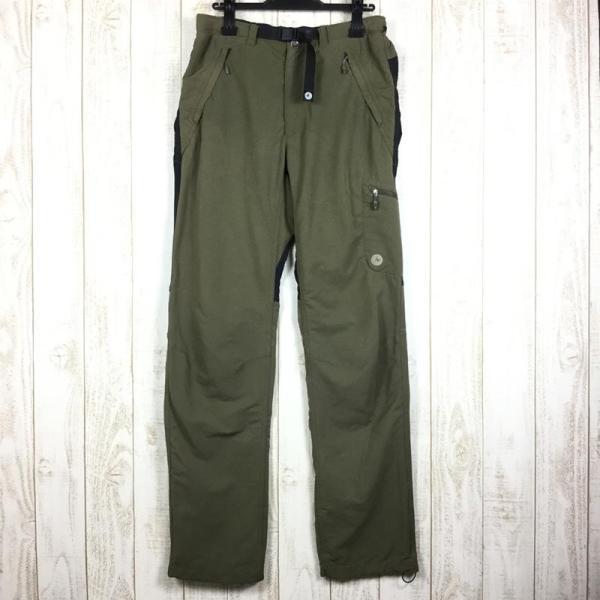 マーモット MARMOT トレック コンフォ パンツ TREK COMFO PANT  MEN's M グリーン系|2ndgear-outdoor