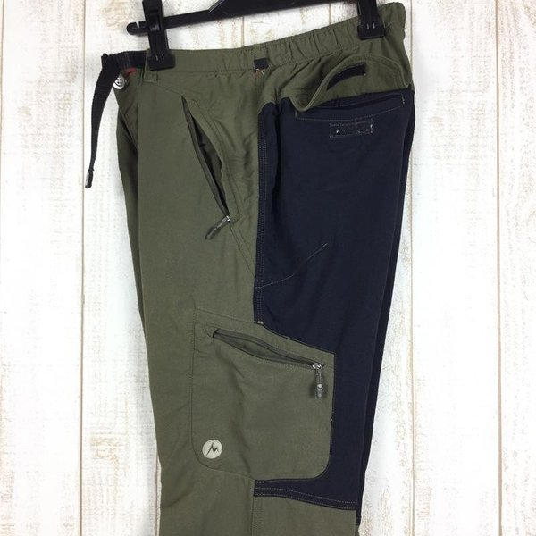 マーモット MARMOT トレック コンフォ パンツ TREK COMFO PANT  MEN's M グリーン系|2ndgear-outdoor|05