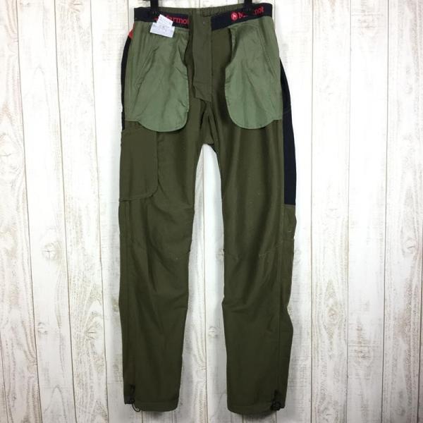 マーモット MARMOT トレック コンフォ パンツ TREK COMFO PANT  MEN's M グリーン系|2ndgear-outdoor|08