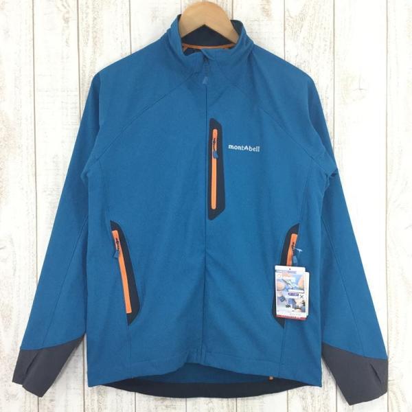 モンベル MONTBELL クラッグ ジャケット  Asian MEN's M SABL サファイアブルー ブルー系|2ndgear-outdoor